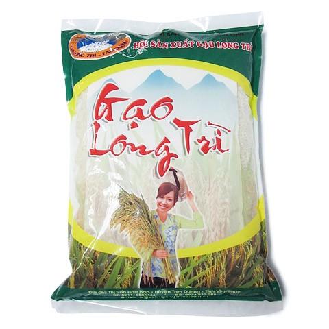 In bao bì đựng gạo